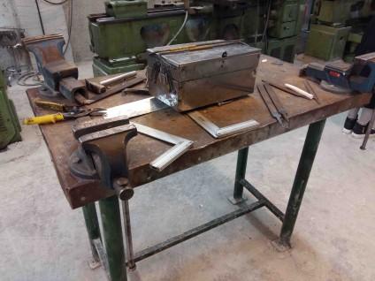 کارگاه جوشکاری ، ورقکاری و ابزارسازی مهندسی مکانیک