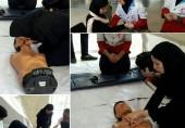 کارگاه های روزانه آموزش هلال احمر