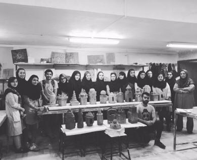 دانشجویان رشته هنر های تجسمی اقدام به ساخت ماکت اماکن باستانی ایران را نمودند