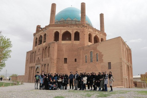 بازدید از گنبد سلطانیه