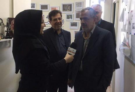احمد مسجد جامعی از سیناپرس بازدید کرد