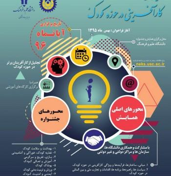 نخستین همایش و جشنواره ملی کارآفرینی در حوزه کودک