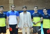 کسب مقام دوم رشته تنیس روی میز در  مسابقات انتخابی چهاردهمین المپیاد ورزشی دانشگاههای غیرانتفاعی منطقه 1 کشور