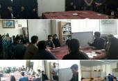 جلسه شورای دبیران انجمن های علمی وکانون های فرهنگی