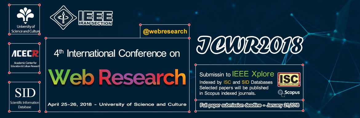 4th International Conference on Web Research