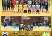 برگزاری مسابقات بسکتبال آقایان