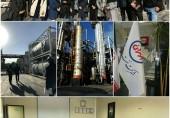 بازدید از پالایشگاه شرکت نفت بِهران