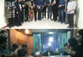 نشست صمیمانه سرپرست محترم دانشگاه با فعالان فرهنگی