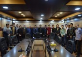 جلسه ی معارفه انجمن مهندسی مکانیک با دانشجویان ورودی 96