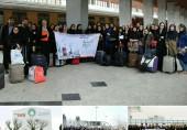 گردهمایی دختران فعال فرهنگی در مشهدمقدس