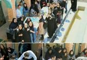"""کارگاه """"نقاشیخط"""" با حضور استاد احمد توسلی و دانشجویان دانشکده هنر"""
