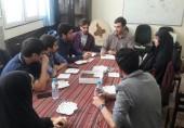 اولین جلسه هم اندیشی برگزاری گردهمایی دبیران کانون های دانشجویی هلال احمر تهران