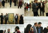 مراسم افتتاحیه نمایشگاه گروهی آثار دانشجویان کارشناسی و کارشناسی ارشد گرافیک دانشگاه علم و فرهنگ