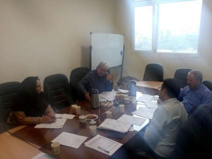 برگزاری جلسه شورای تخصصی گروه مهندسی ایمنی