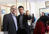 حضورسرپرست  دانشگاه علم و فرهنگ  در انتخابات انجمنهای علمی و کانونهای فرهنگی دانشجویان
