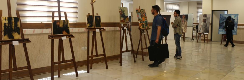 برگزاری نمایشگاه گروهی 16 نگاه توسط انجمن علمی نقاشی