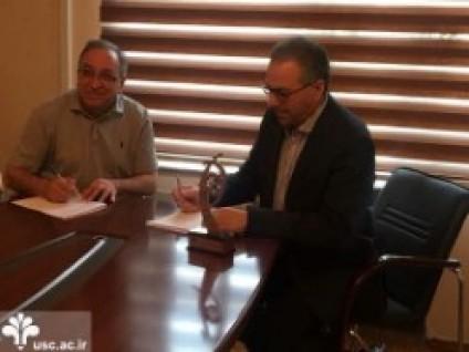 انعقاد تفاهم نامه همکاری بین دانشگاه خزر باکو و دانشگاه علم و فرهنگ تهران