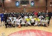 پیروزی تیم فوتسال پسران دانشگاه علم و فرهنگ