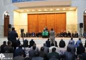 گزارش تصویری تجدید میثاق مسوولان و دانشجویان دانشگاه علم و فرهنگ با آرمانهای امام راحل