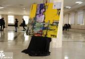 """رونمایی از تابلوی """"اتوبوس زرد""""، یادواره  جان باختگان حادثه واحد علوم و تحقیقات"""