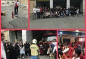 برگزاری کارگاه آموزش عمومی ایمنی آتش نشانی با همکاری مرکز آموزش آتش نشانی منطقه ۲ (ایستگاه ۲۵ شهید محمدحسین صالحی)