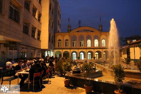 برپایی افطار فعالان فرهنگی در آستانه میلاد کریم اهل بیت