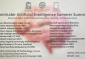 مجموعه سخنرانیهای علم داده و هوش مصنوعی امیرکبیر