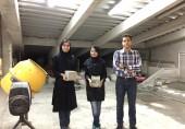 کسب مقام در مسابقات ملی بتن توسط دانشجویان دانشگاه علم و فرهنگ