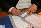 امضاء تفاهمنامه همکاری  بین دانشگاه علم و فرهنگ و پژوهشکده نظر