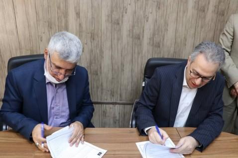 امضاء توافقنامه همکاری   بین دانشگاه علم و فرهنگ و سازمان جهاددانشگاهی تهران