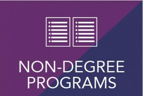Non-Degree Programs