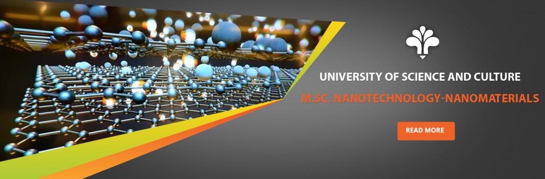M.Sc Nanotechnology-Nanomaterials
